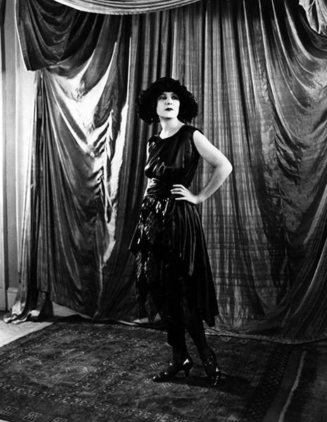 Norma Talmadge, circa 1916. (Bizarre Los Angeles)