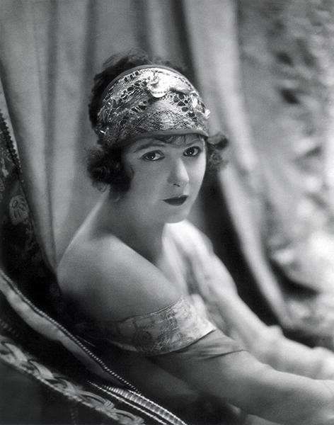 Norma Talmadge in 1922. Bizarre Los Angeles