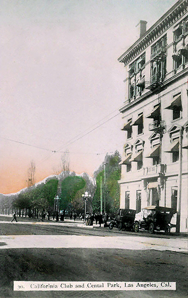 California Club Los Angeles 1910