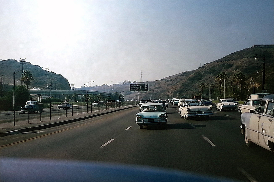 101 Freeway at Barham