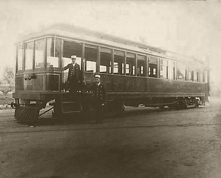 1905 Street car Los Angeles
