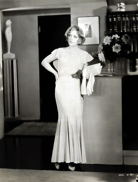 """I like to be myself and try to avoid roles incongruous to my own personality. I want to keep on playing in comedies."" -- Marion Davies in 1931. (Bizarre Los Angeles)"