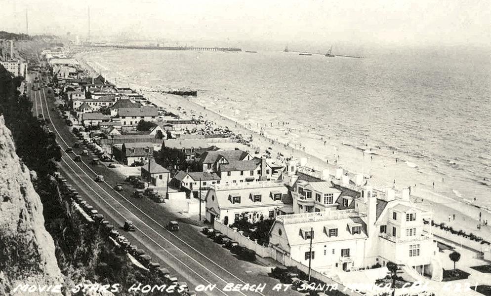 Marion Davies Beach House 1940s