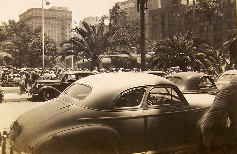 1942 PERSHING SQUARE SUBWAY RAILWAY