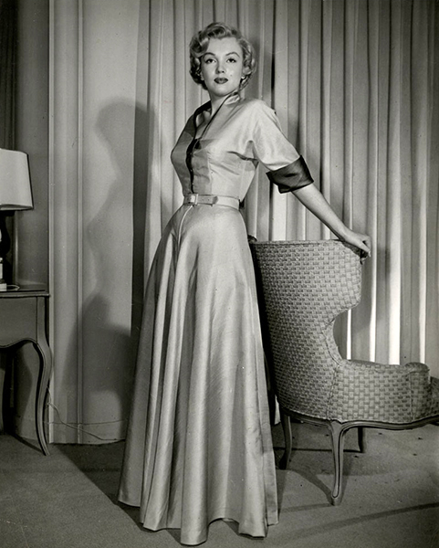 """""""I am naturally shy and I was so frightened when I first started to act that the words wouldn't come out of my mouth. I was so impossible that after I finished school on the 20th lot I was fired."""" -- Marilyn Monroe (Bizarre Los Angeles)"""