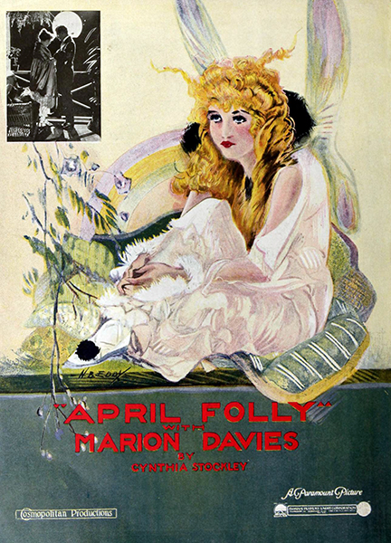 """""""April Folly,"""" a Marion Davies film from 1920. Bizarre Los Angeles"""