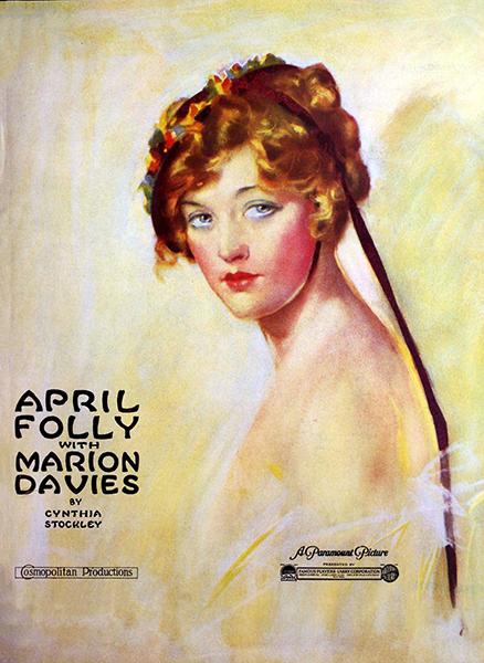 April Folly (1920), starring Marion Davies. Bizarre Los Angeles