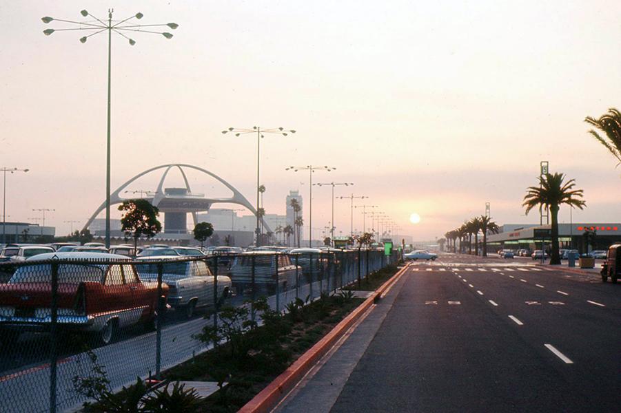 LAX Sunset 1961