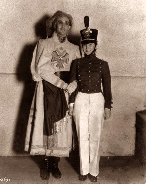 Norma Shearer Basil Rathbone 1930