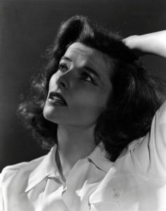 """""""In pictures, acting is broken up into small snatches - often scenes for two people or scenes in which you're alone. So picture acting is, as I put it, more egotistical, particularly if you are a star. Everthing is arranged to pamper your playing."""" -- Katharine Hepburn"""