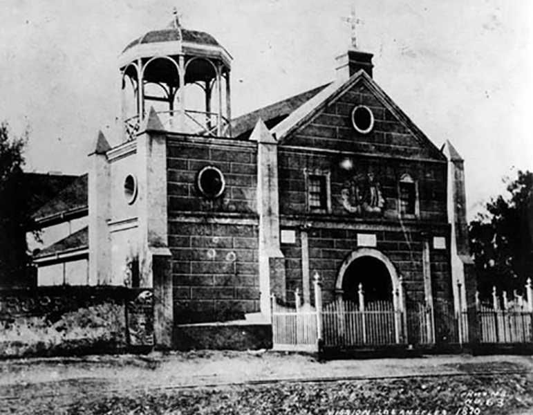 Plaza Church 1870