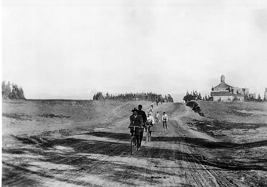 Pico Western Los Angeles Times Bicycle Club Run 1895