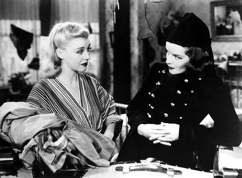 Ginger Rodgers Katharine Hepburn Stage Door 1937
