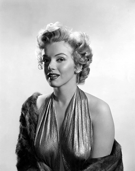 """People expect to find me one of two things. Either a tart or a dumb blonde. I'm neither."" -- Marilyn Monroe (Bizarre Los Angeles)"