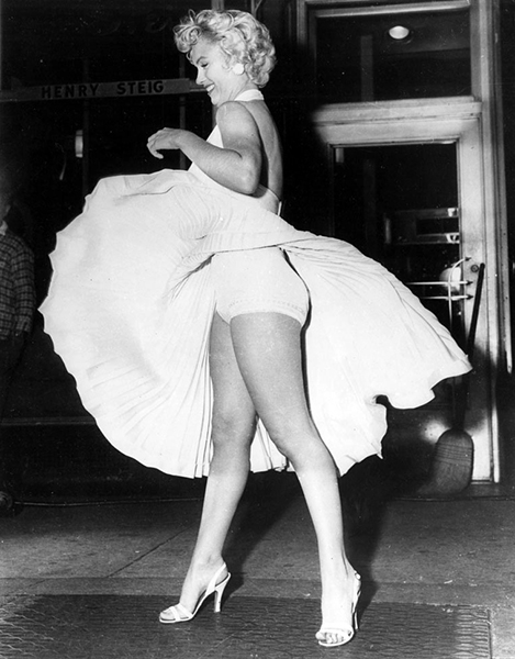 """""""I never felt better or looked better in my life."""" -- Marilyn Monroe (Bizarre Los Angeles)"""