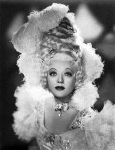 Marion Davies as Marie Antoinette (Bizarre Los Angeles)