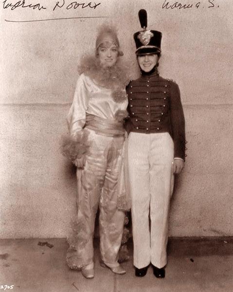 Marion Davies Norma Shearer 1930