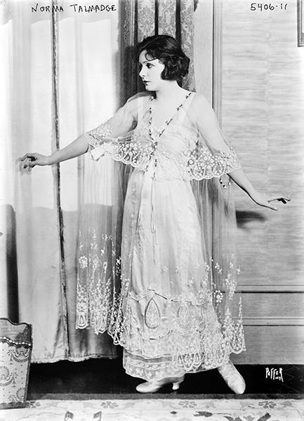 Norma Talmadge posing