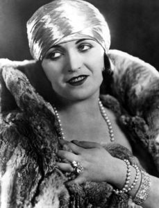 """Oh, no, I shall not play such thing -- no, no, I shall not! I have never played this vampire, because I do not think there is ever such a woman in this world, and I do not play any woman except those that have character and are real to me."" -- Pola Negri (Bizarre Los Angeles)"