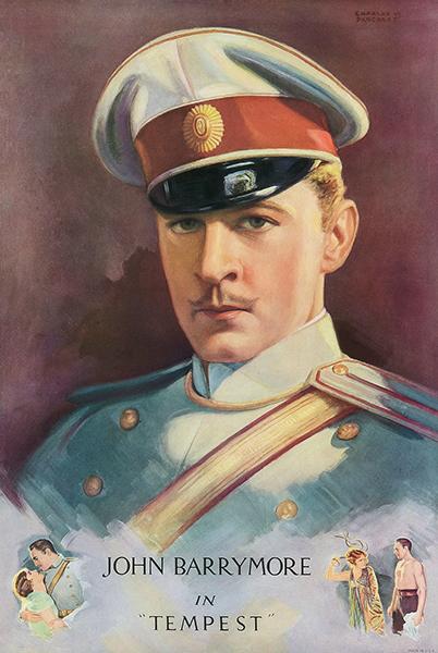 John Barrymore Tempest 1928