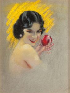 Olive Borden illustration
