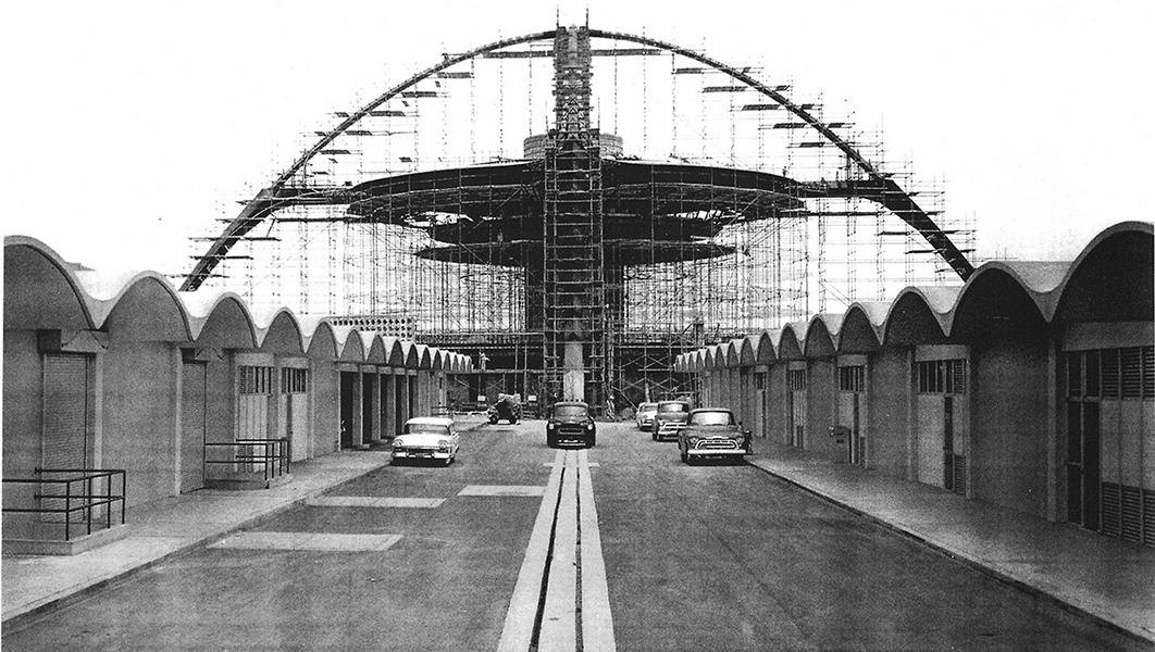 Theme building construction