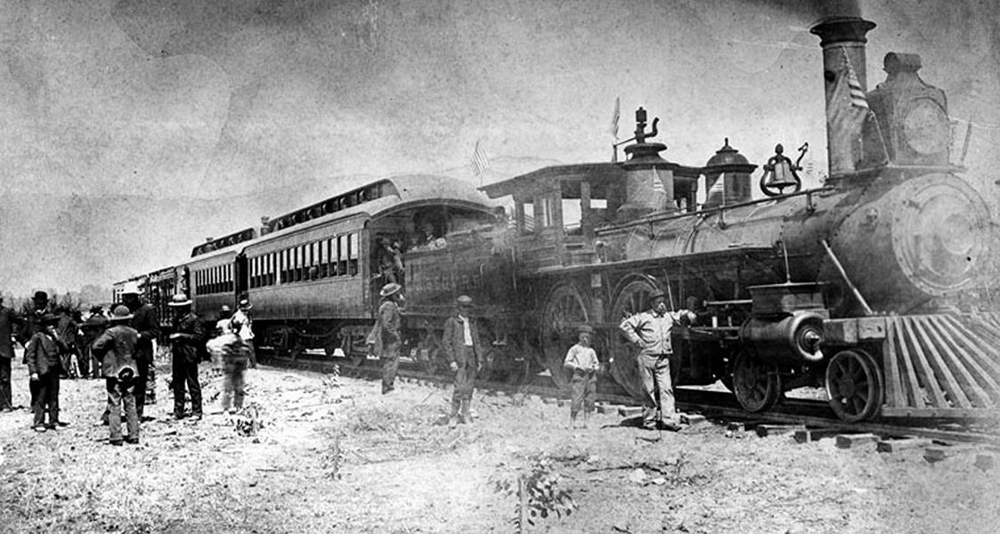 First Train 1885