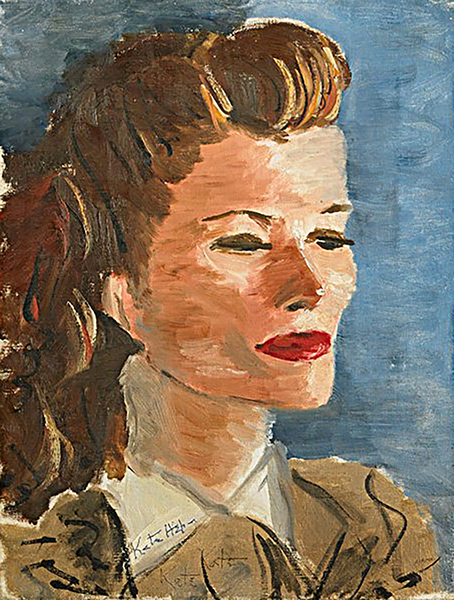 Katharine Hepburn: a self-portrait (Bizarre Los Angeles)