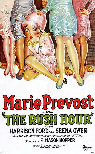 Rush Hour (1928) with Marie Prevost. (Bizarre Los Angeles)