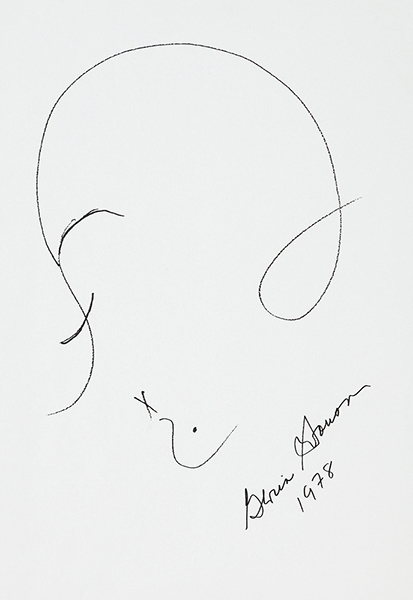 Gloria Swanson sketch