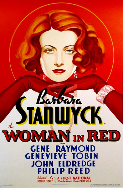 The Woman in Red Barbara Stanwyck 1935