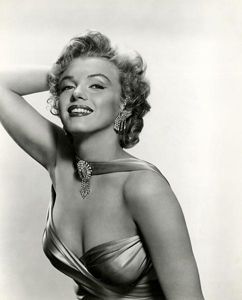 Bizarre Los Angeles MARILYN MONROE 1952 FRANK POWOLNY