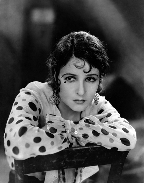 "Norma Talmadge as ""The Woman Disputed"" (1928). Bizarre Los Angeles"