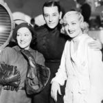 "Gloria Swanson, George Raft and Carole Lombard on the set of ""Bolero"" (1934). Bizarre Los Angeles"