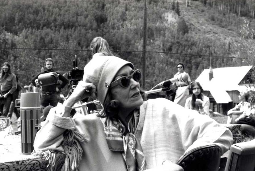 Gloria Swanson older