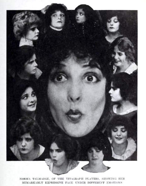 Norma Talmadge faces