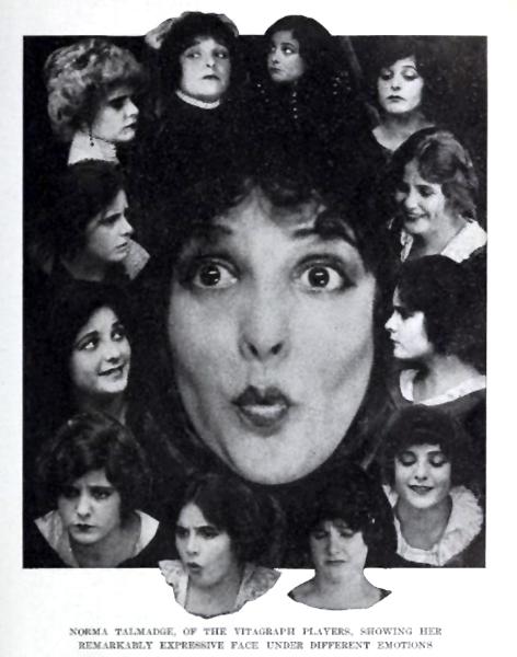 Norma Talmadge faces