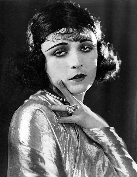 """""""Of course, every actor or actress uses his hands in his work. But I don't believe most of them make quite as full use of them as I like to do."""" -- Pola Negri (Bizarre Los Angeles)"""