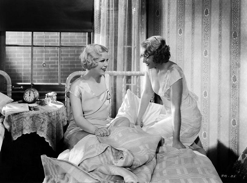 """Glenda Farrell and Joan Blondell in """"Havana Widows"""" (1933). Bizarre Los Angeles"""
