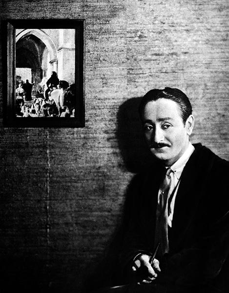 Adolphe Menjou in 1927. (Bizarre Los Angeles)