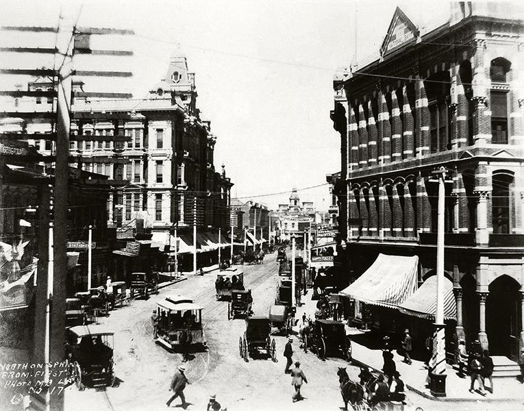 Spring Street Los Angeles 1888