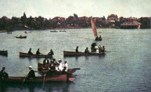1908 Boating at Westlake Park