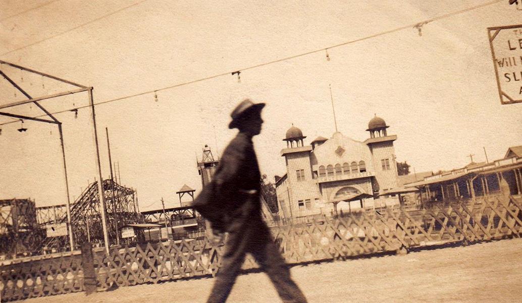 1909-ORIGINAL PHOTO TAKEN AT CHUTES PARK