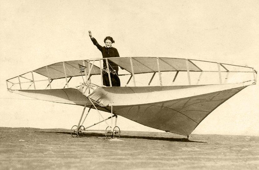 1926 Los Angeles California Passenger Carrying Kite