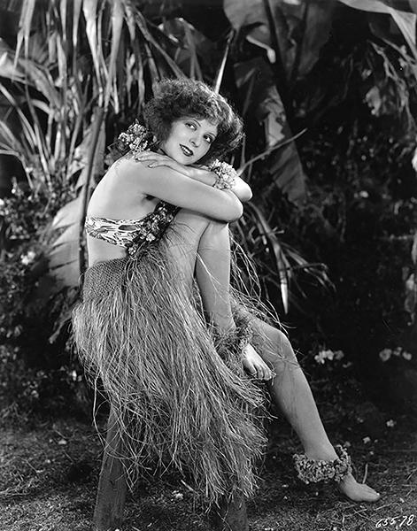 "Clara Bow in ""Hula"" (1927)"