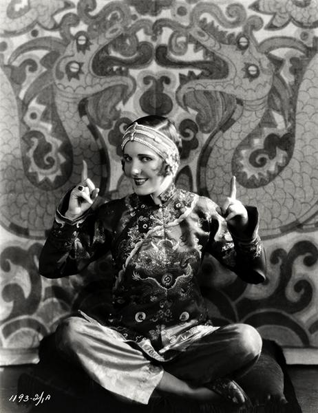 Jean Arthur The Mysterious Dr. Fu Manchu 1929
