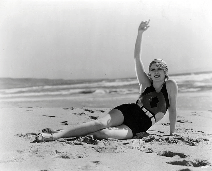 """Between movies I signed fan mail. Or I modelled, or went on publicity tours. I received so much fan mail."" -- Anita Page (Bizarre Los Angeles)"