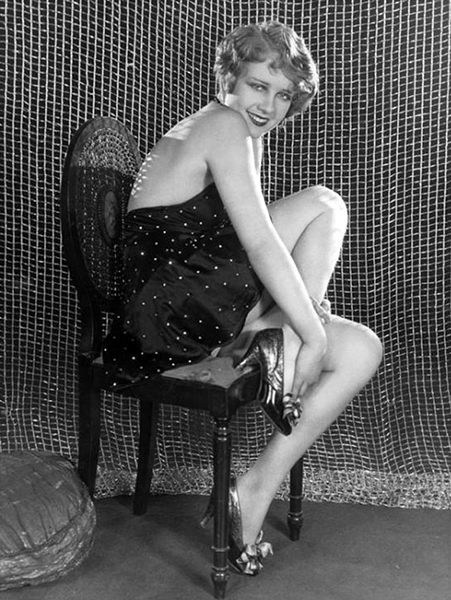 """It's a lot of fun playing a 'party girl' but when one thinks of the really dramatic actresses it looks rather frivolous."" -- Anita Page in 1930. (Bizarre Los Angeles)"