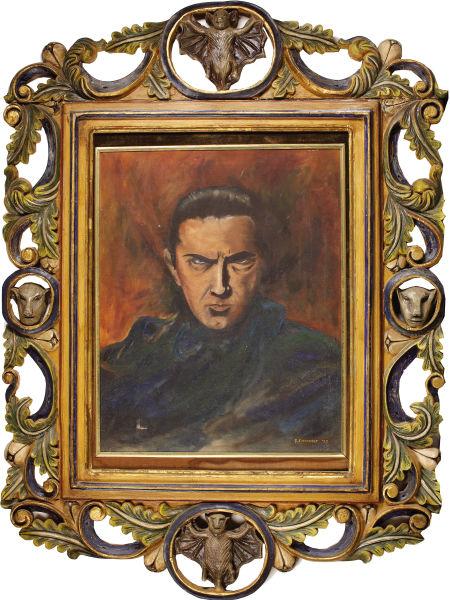 Bela Lugosi painting