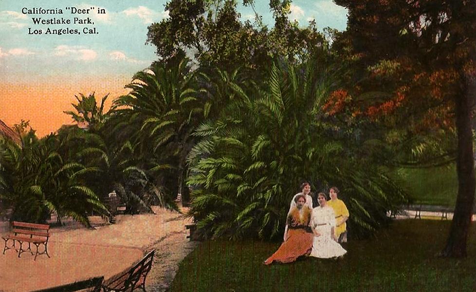 Westlake Park MacArthur Park 1910s